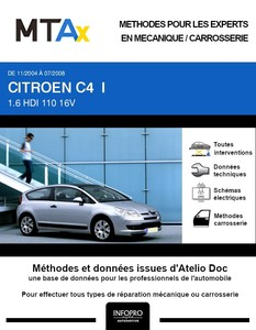 MTA Expert Citroën C4 I 3 portes phase 1