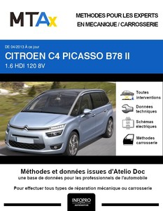 MTA Expert Citroën C4 Picasso II Grand phase 1