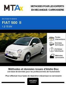 MTA Expert Fiat 500 3 portes phase 1