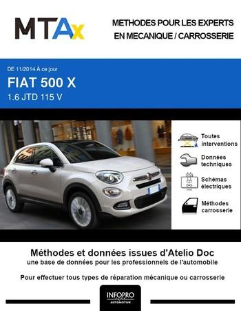 MTA Expert Fiat 500X