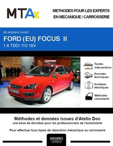 MTA Expert Ford Focus II 3 portes phase 1