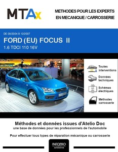 MTA Expert Ford Focus II 5 portes phase 1