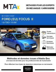 MTA Expert Ford Focus II berline phase 1