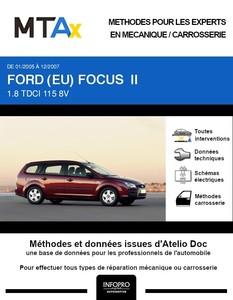 MTA Expert Ford Focus II break phase 1