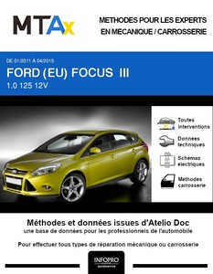 MTA Expert Ford Focus III 5 portes phase 1