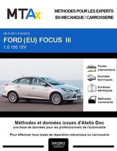MTA Expert Ford Focus III berline phase 1