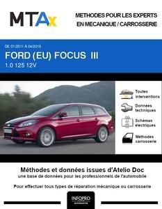 MTA Expert Ford Focus III break phase 1