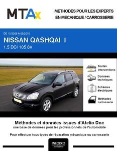 MTA Expert Nissan Qashqai I plus 2 phase 1