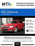 MTA Expert Opel Astra H 3 portes phase 1
