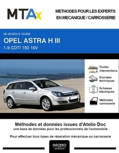 MTA Expert Opel Astra H break phase 1