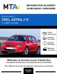 MTA Expert Opel Astra J 5 portes phase 1
