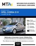 MTA Expert Opel Corsa D 3 portes phase 1