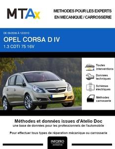 MTA Expert Opel Corsa D 5 portes phase 1
