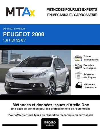 MTA Expert Peugeot 2008 I phase 1
