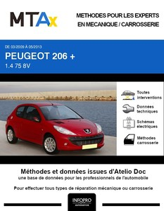 MTA Expert Peugeot 206+ 3 portes