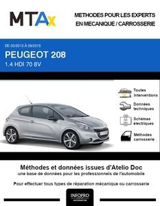 MTA Expert Peugeot 208 I 3 portes