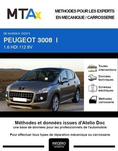 MTA Expert Peugeot 3008 I phase 1