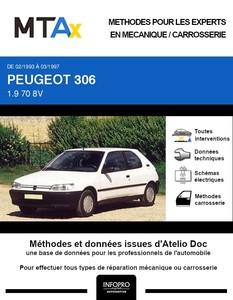 MTA Expert Peugeot 306 3 portes phase 1