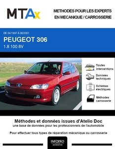 MTA Expert Peugeot 306 3 portes phase 2