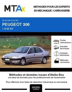 MTA Expert Peugeot 306 berline phase 1