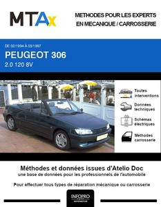 MTA Expert Peugeot 306 cabriolet phase 1