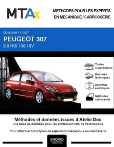 MTA Expert Peugeot 307 3 portes phase 2