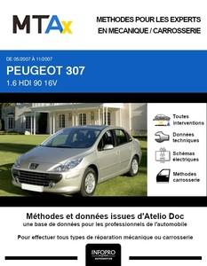 MTA Expert Peugeot 307 berline phase 2