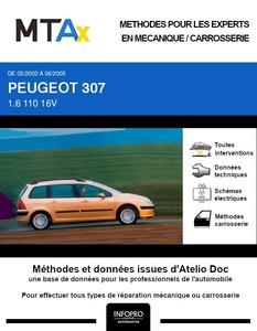 MTA Expert Peugeot 307 break phase 1