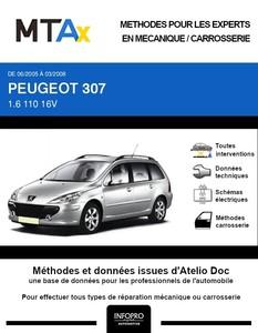 MTA Expert Peugeot 307 break phase 2
