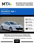 MTA Expert Peugeot 308 I cabriolet phase 1