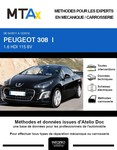 MTA Expert Peugeot 308 I cabriolet phase 2
