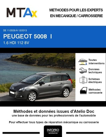 MTA Expert Peugeot 5008 I phase 1