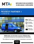 MTA Expert Peugeot Partner I Fourgon 4 portes phase 2