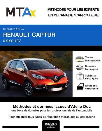 MTA Expert Renault Captur I