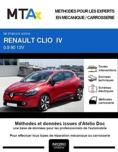 MTA Expert Renault Clio IV 5 portes phase 1