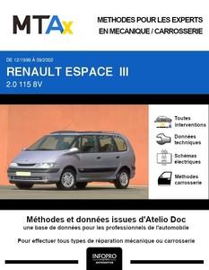 MTA Expert Renault Espace III