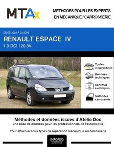 MTA Expert Renault Espace IV phase 1
