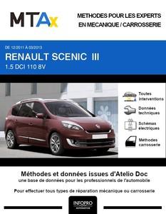 MTA Expert Renault Grand Scénic III phase 2