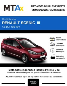 MTA Expert Renault Grand Scénic III phase 3