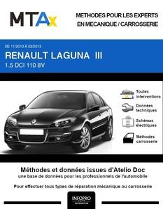 MTA Expert Renault Laguna III berline phase 2