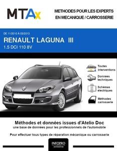 MTA Expert Renault Laguna III break phase 2