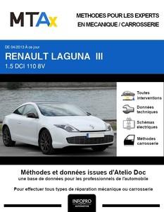 MTA Expert Renault Laguna III coupé phase 2
