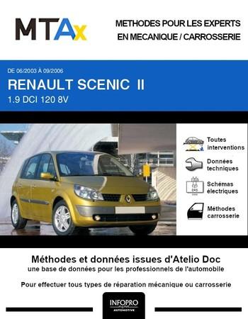 MTA Expert Renault Scénic II phase 1