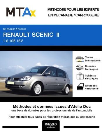 MTA Expert Renault Scénic II phase 2