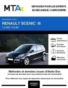 MTA Expert Renault Scénic III phase 1