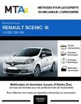 MTA Expert Renault Scénic III phase 3