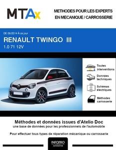 MTA Expert Renault Twingo III