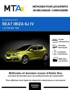MTA Expert Seat Ibiza IV 5 portes phase 1