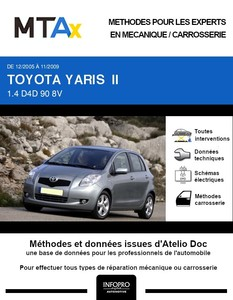 MTA Expert Toyota Yaris II 5 portes phase 1
