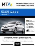 MTA Expert Toyota Yaris III 3 portes phase 1